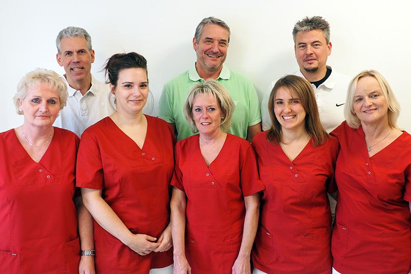 Levsoccermed Praxisteam Orthopädie Unfallchirurgie Leverkusen Team